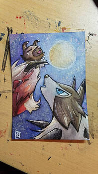 ATC// Rockruff Moon for Urocyon-fox