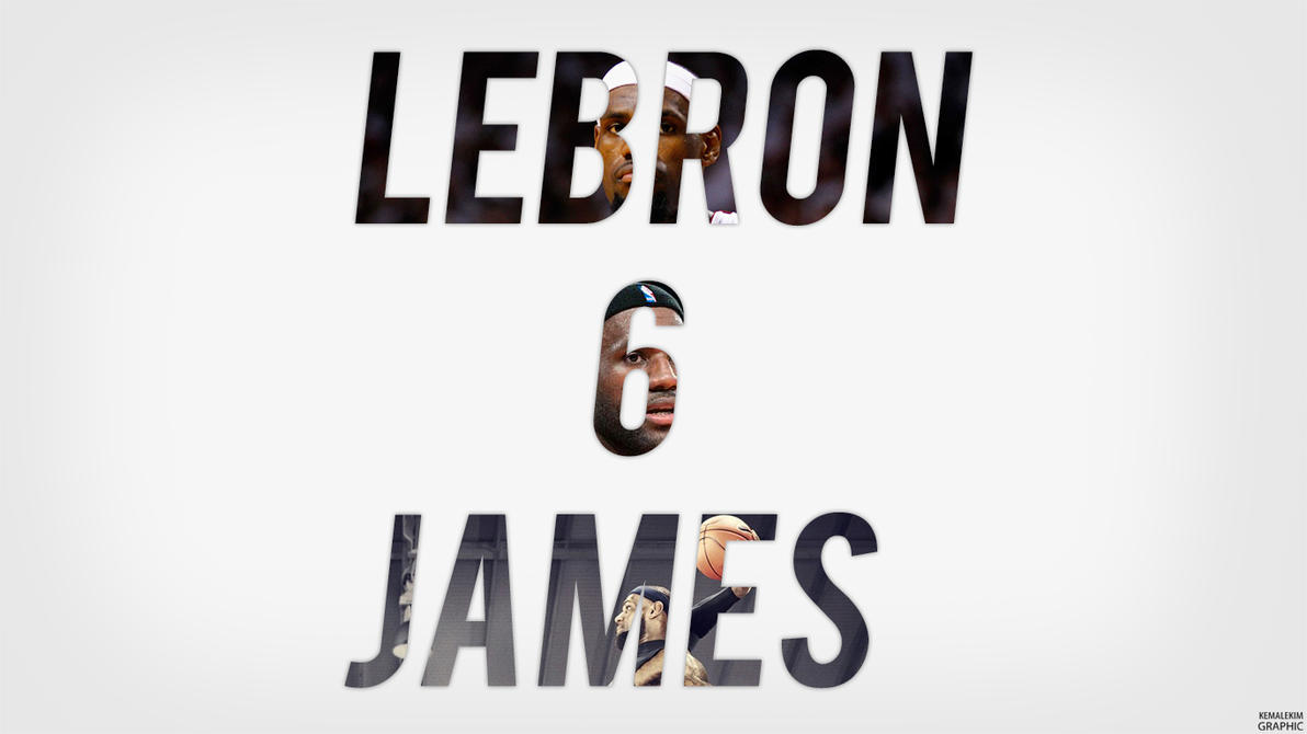 LeBron James by KemalEkimGraphic