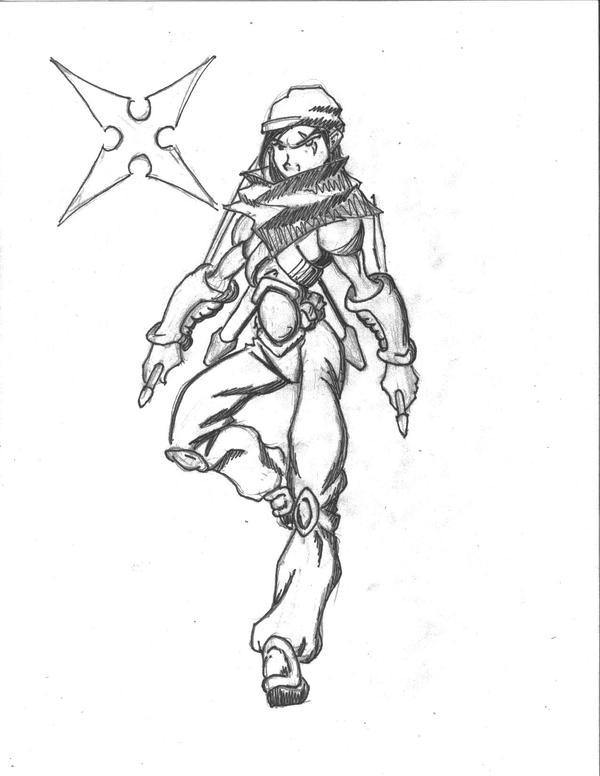 The Ninja by AGMorgan