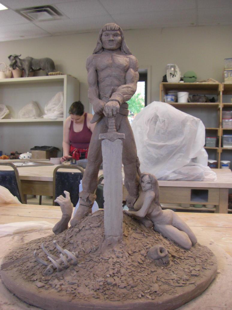 Conan Sculpt by AGMorgan