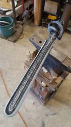 Swept Hilt Larp Sword by AGMorgan