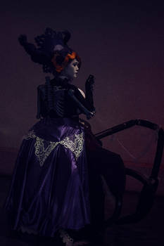Odette cosplay (back)