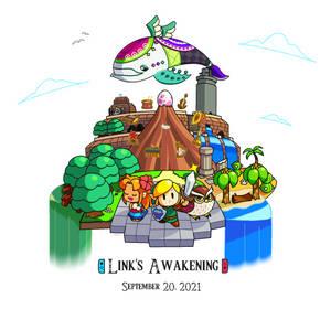 2 Years of Link's Awakening Remake! 09.20.2021