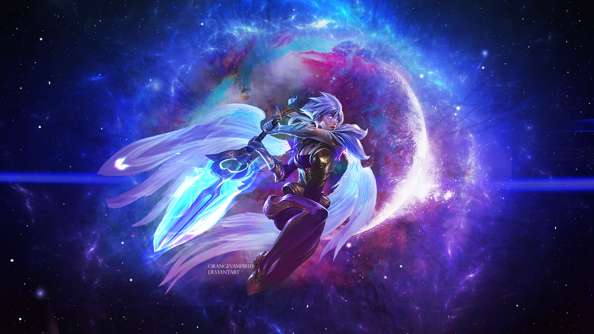 Dawnbringer Riven Wallpaper League of Legends by ...