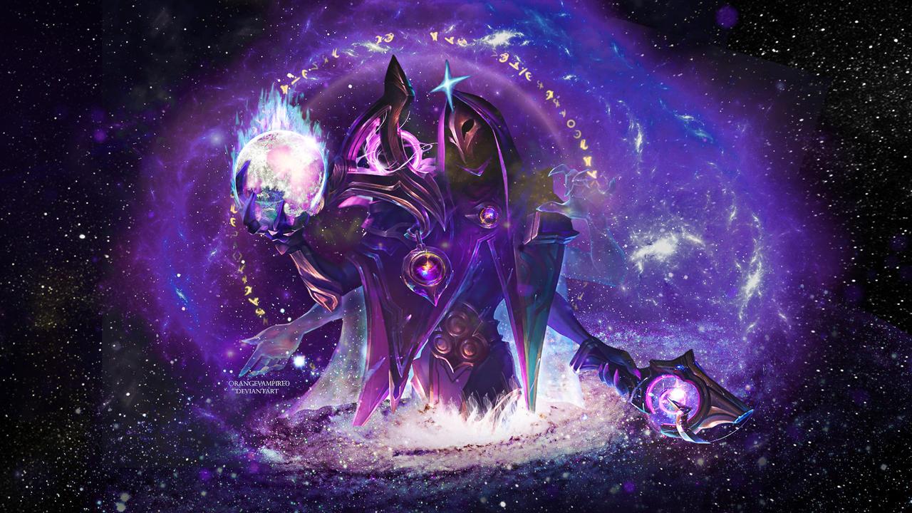 Dark Cosmic Jhin Wallpaper By Artifizurelle On Deviantart