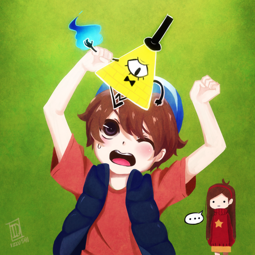 GET OFF,BILL!!!! by Izzu-shi