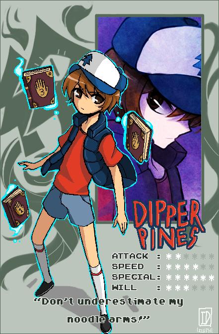 Battle ID: Dipper! by Izzu-shi