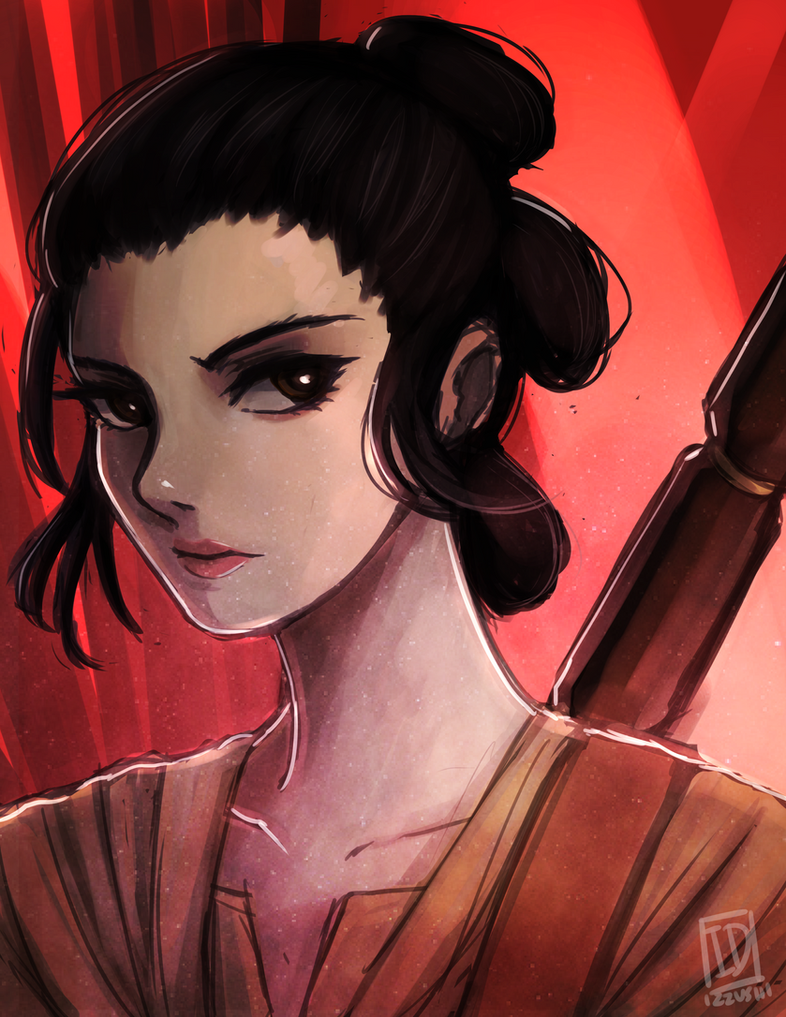 Star Wars: Rey by Izzu-shi