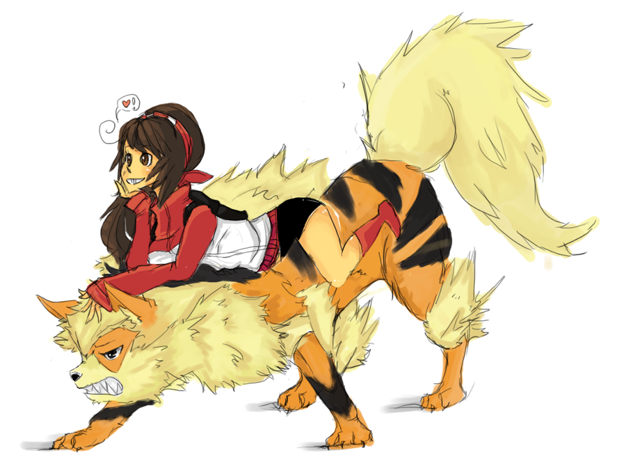 Arcanine Again. by juiceboxy