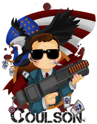 Avengers: Coulsonator by Cobyfrog