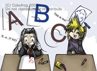 Final Fantasy Kindergarten by Cobyfrog