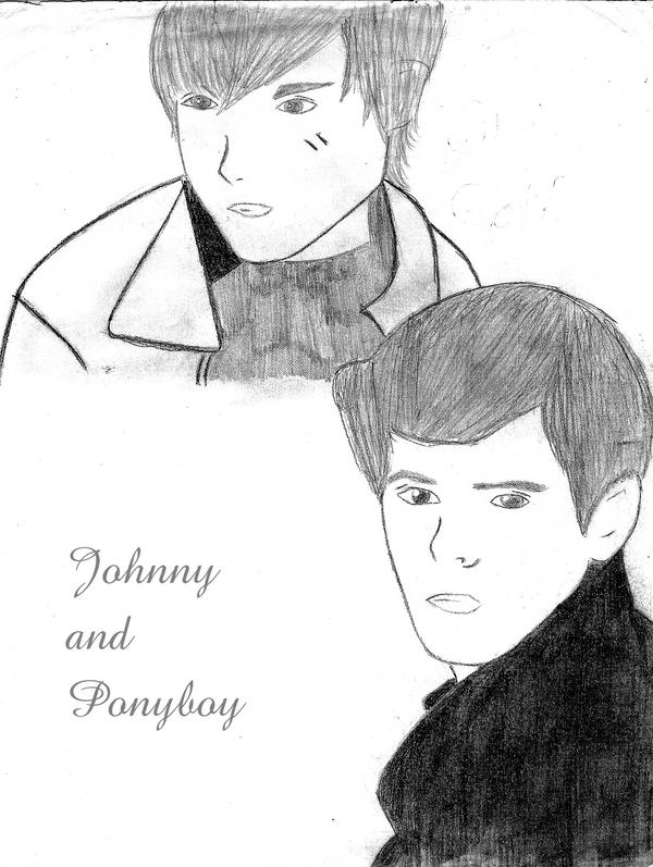 PonyBoy Curtis and Johnny Cade by B1aCk-BaNdAnA on DeviantArt