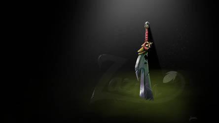 PERSONNAL sword by Zaziss