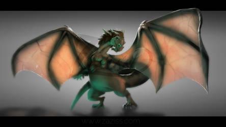 COMMISSION dragon Retidurc by Zaziss