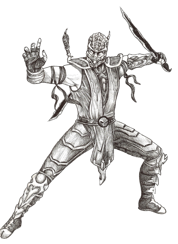 View Mk Scorpion Coloring Page