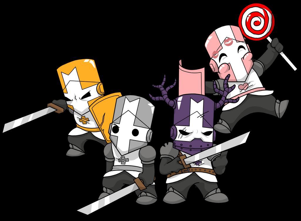Castle crashers by tsukiohkami on deviantart - Castle crashers anime ...