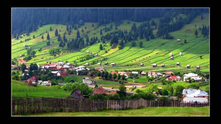 Romanian Landscape by XtraVagAnT