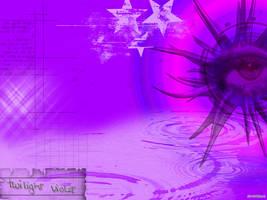 Violet Eye by XtraVagAnT