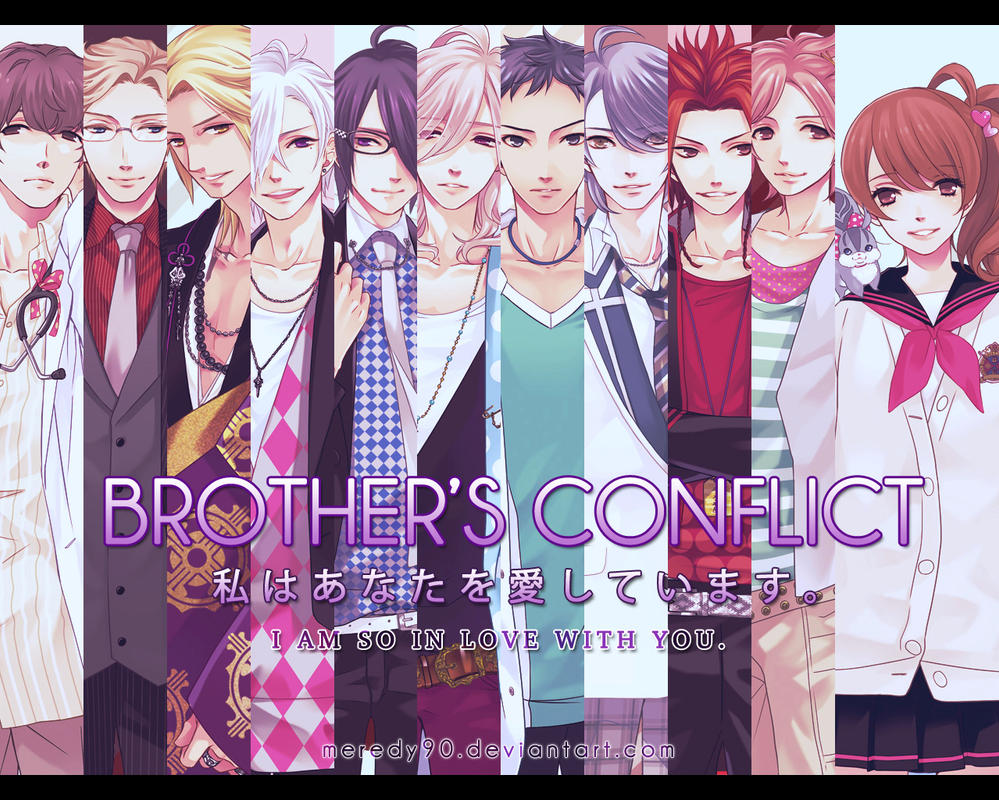 Image result for brothers conflict wallpaper