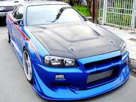 Skyline GTR R34 by DIMITRIS