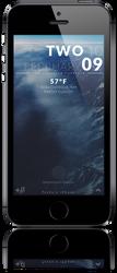 iPhone 5s LockScreen updated. by xxtashy