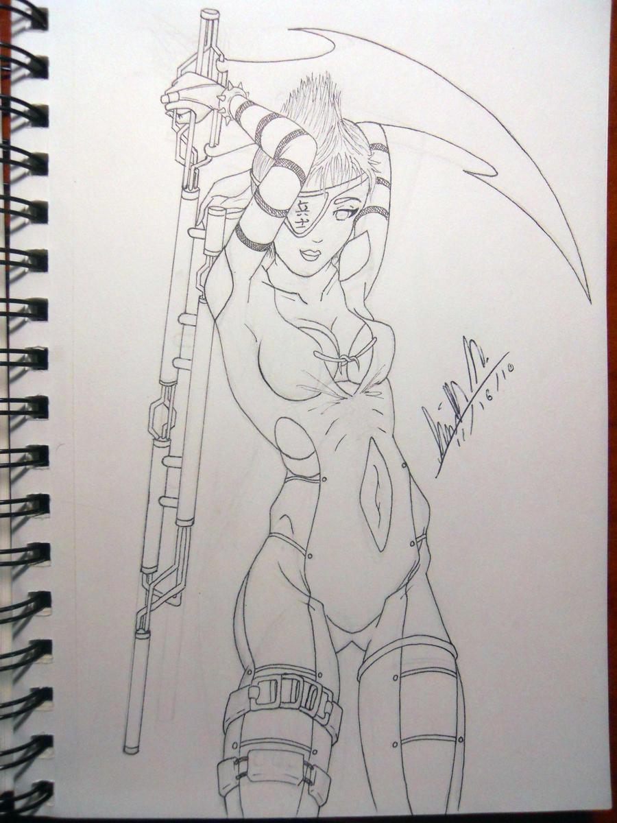 lineart   sexy female reaper by paper pencil d334qnh Dear EarthTalk: Are plans to mine uranium near the Grand Canyon, as proposed ...