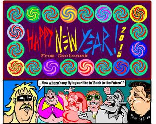 Happy New Year 2015 by MrDoctorunk