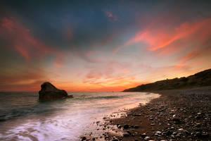 Purple Sunset by hateom