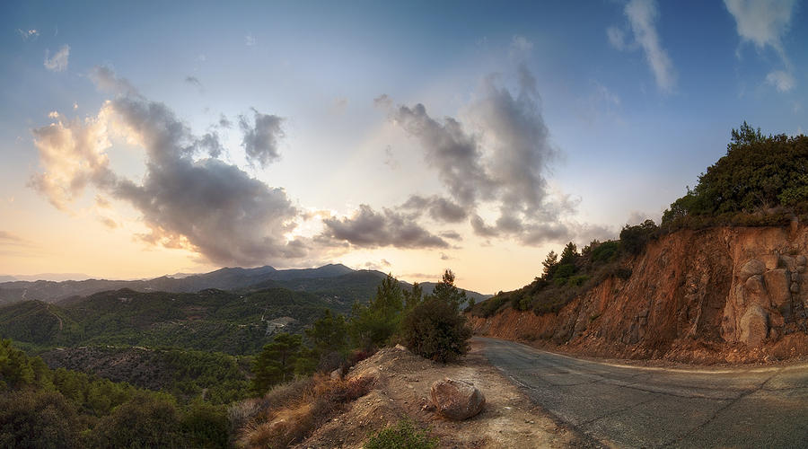 Troodos Mountains by hateom