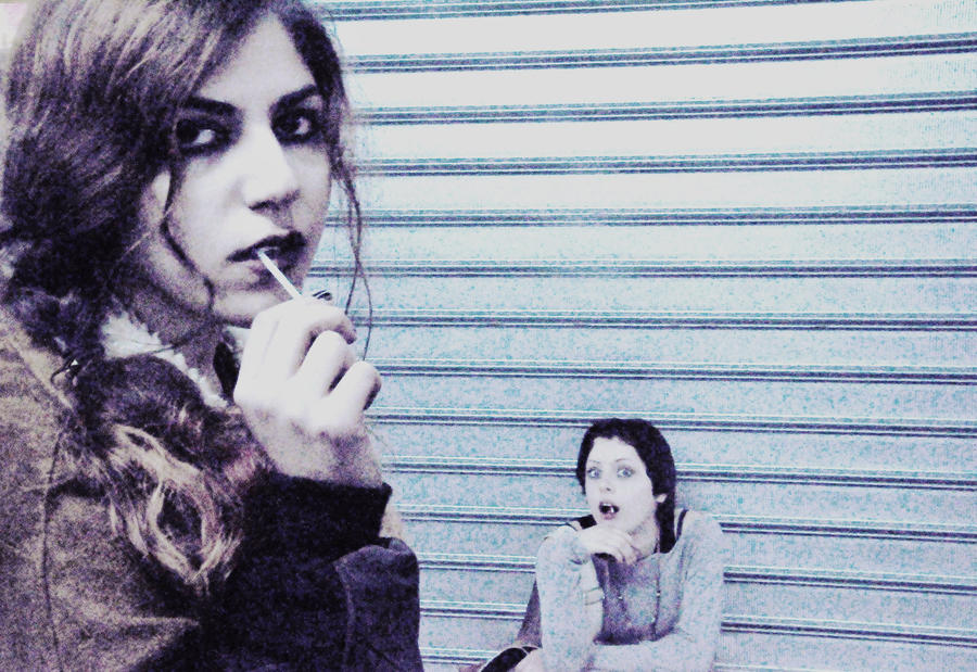 Me and her by StrangerLyri