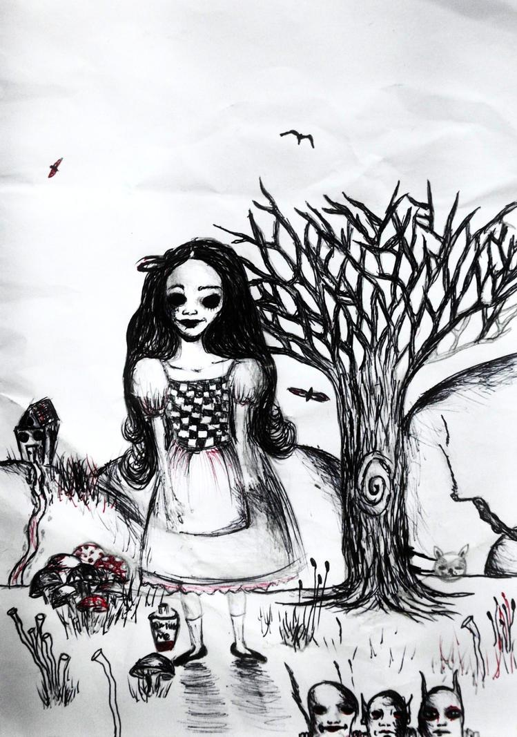 Little Alice by StrangerLyri