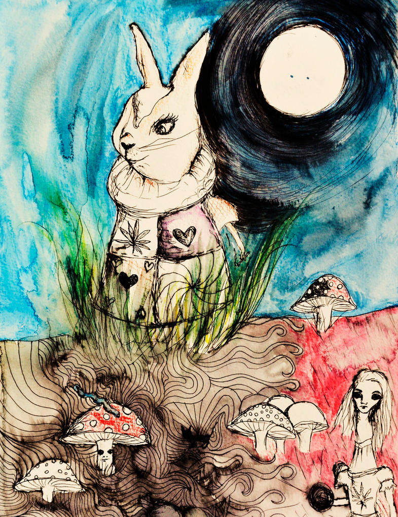 White Rabbit by StrangerLyri