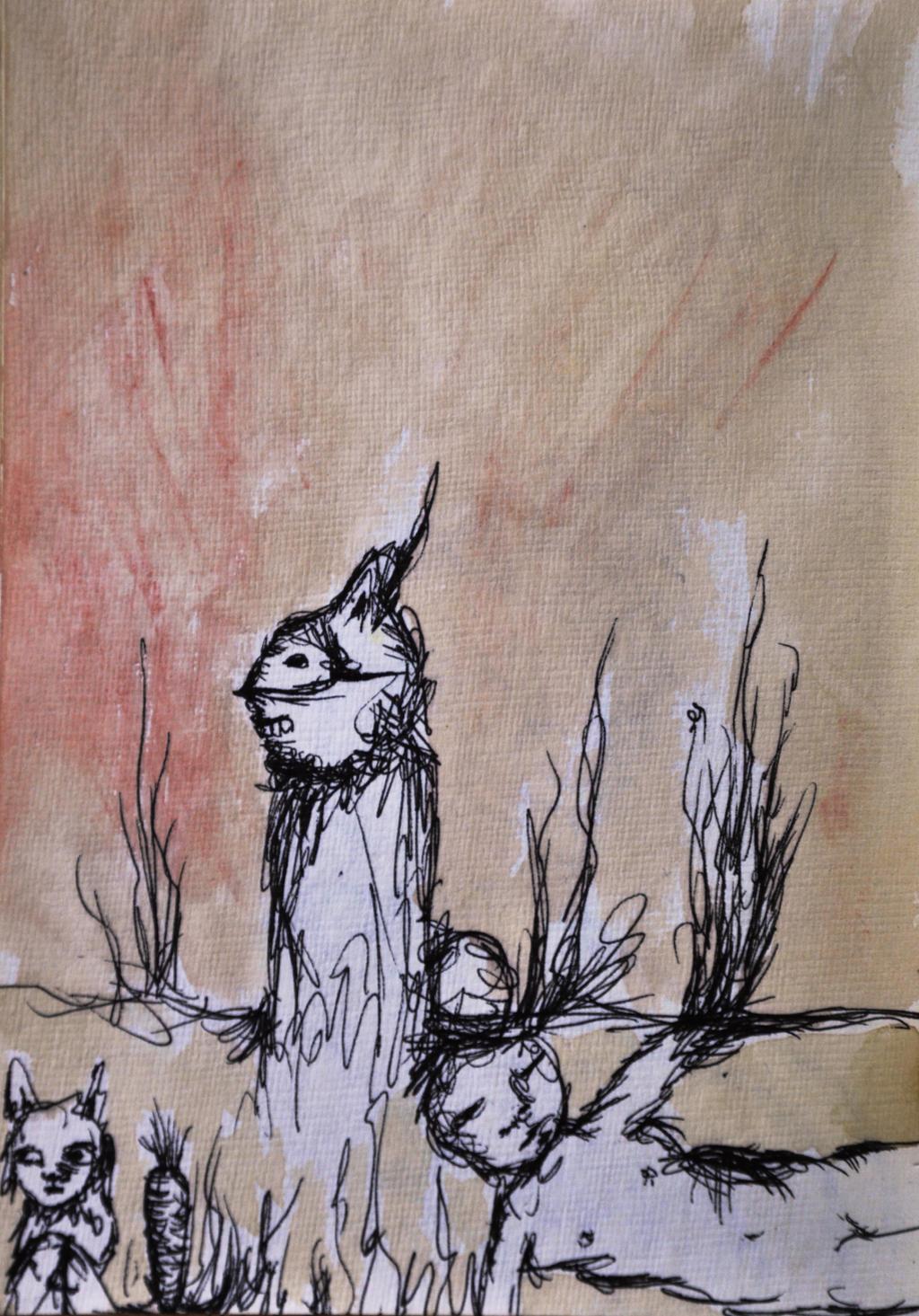 Mr. Rabbit by StrangerLyri