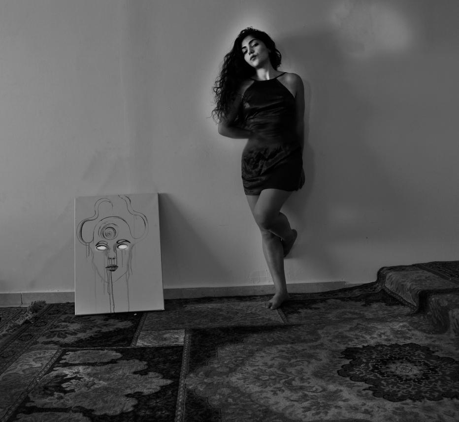 Fear under the wall by StrangerLyri