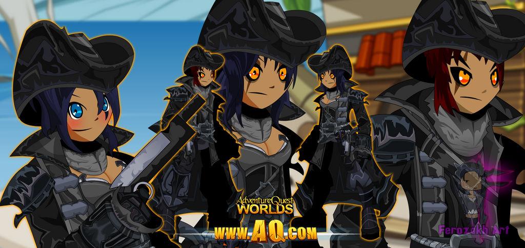 AQWorlds- Gibath Naval Commander (all gender ver ) by far0zuk on