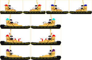 The Great Ocean Tug And Salvage Company Fleet