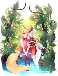 Commissions- Tropical Love by Meribel-tan