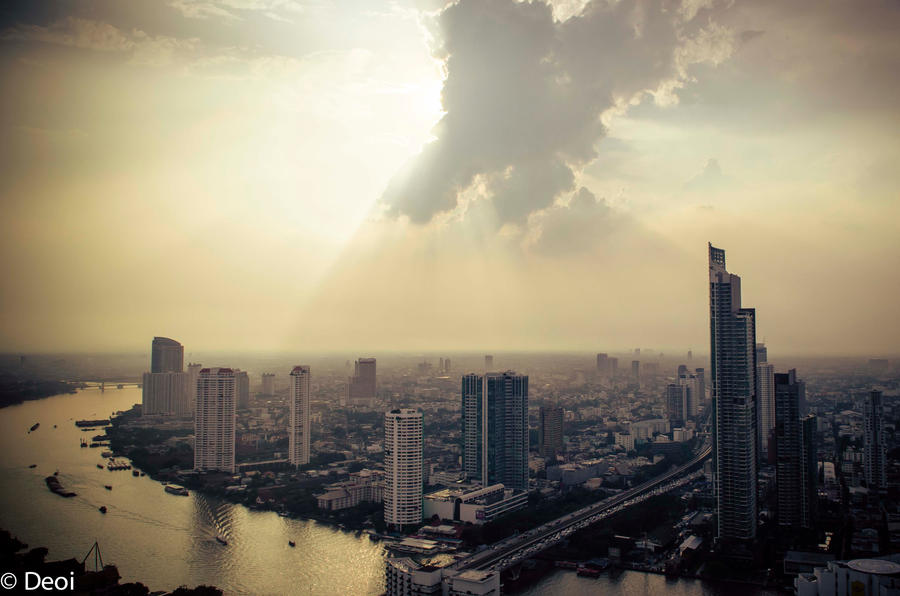 Bangkok by Day by DeoIron