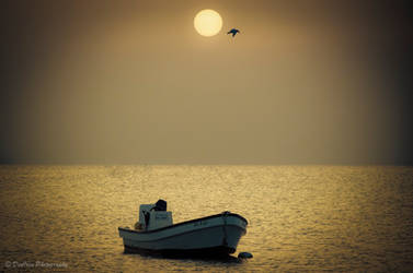 Peaceful Sunrise...... by DeoIron