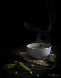 Thai Pea and Mint Soup... by DeoIron