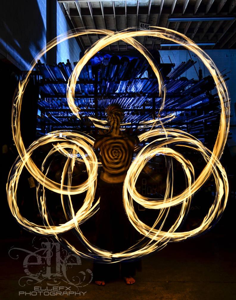 Body Art Movement Fire Angel By Ellefx On Deviantart