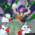 Commission: Neeko TICKLED  League of Legends