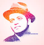 Bruno Mars typography by Amjad-AS