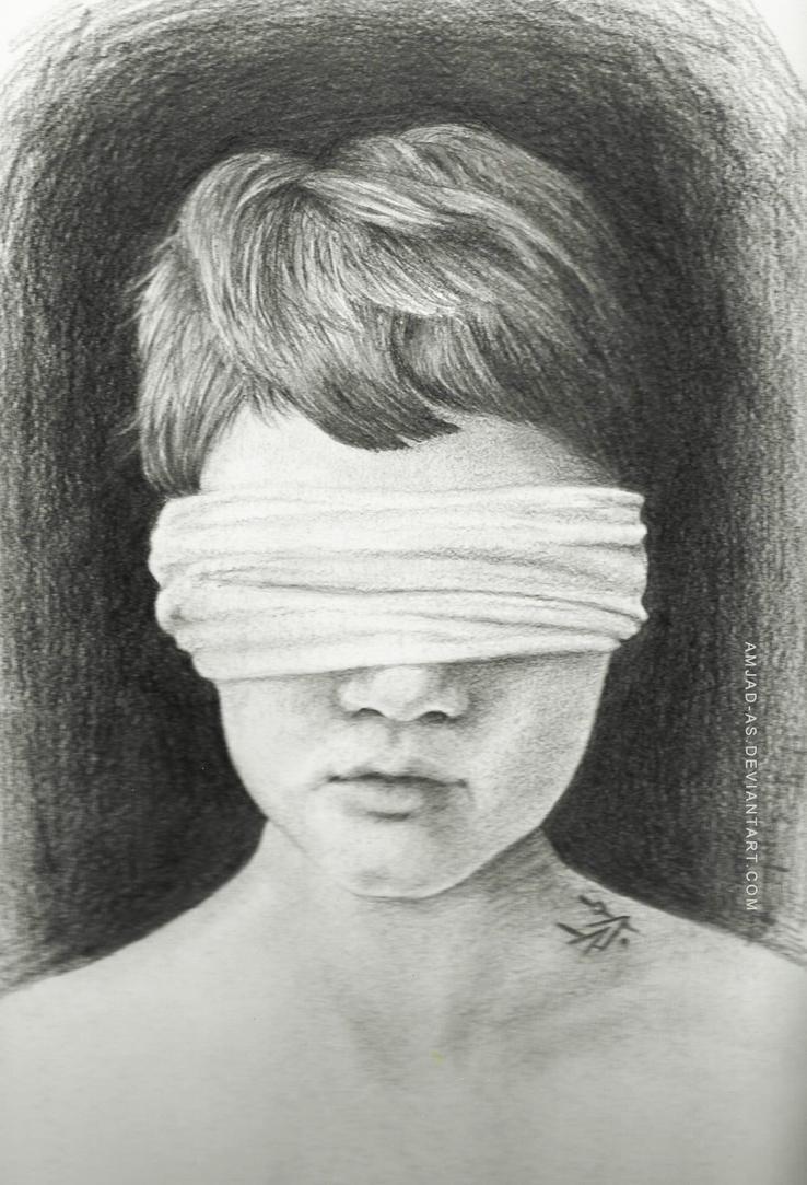 Výsledek obrázku pro blindness drawing