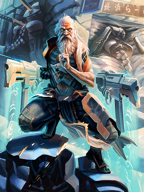 Galaxy Saga_The Old Soldier Advanced by Pampelmouss