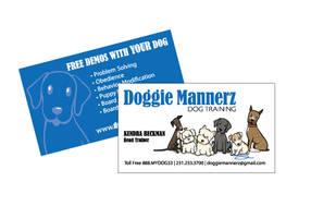DoggieMannerz Cards by colorchrome