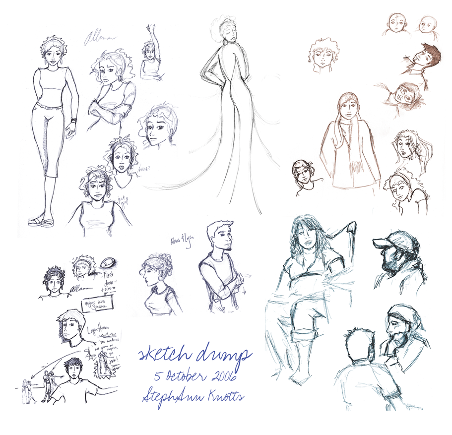 sketch dump v1 by colorchrome