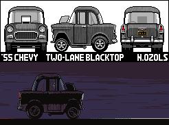 Two Lane Blacktop 55 Chevy by NOzols