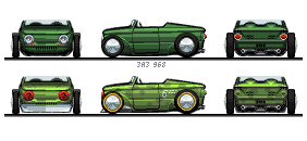 ZAZ 968 | dry lake racer by NOzols