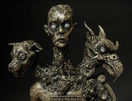 Bune - Demon Sculpture